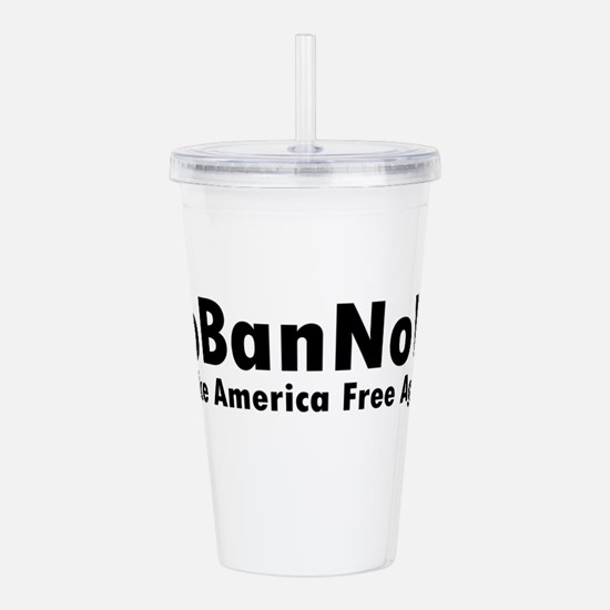 Cute Banned Acrylic Double-wall Tumbler