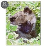 Keeshond Puppy Puzzle
