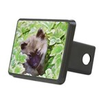 Keeshond Puppy Rectangular Hitch Cover