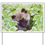 Keeshond Puppy Yard Sign
