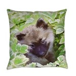 Keeshond Puppy Everyday Pillow