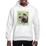 Keeshond Puppy Hooded Sweatshirt