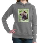 Keeshond Puppy Women's Hooded Sweatshirt