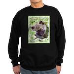 Keeshond Puppy Sweatshirt (dark)