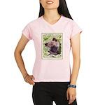 Keeshond Puppy Performance Dry T-Shirt