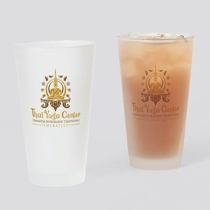 TYC Logo xtra Large Drinking Glass