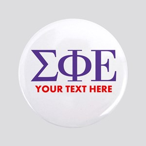Sigma Phi Epsilon Personalized Button