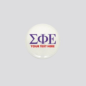 Sigma Phi Epsilon Personalized Mini Button