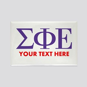 Sigma Phi Epsilon Personalized Magnets