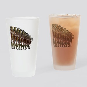 WARRIORS Drinking Glass