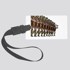 WARRIORS Luggage Tag