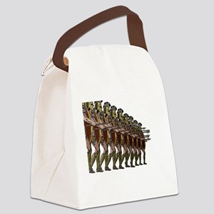 WARRIORS Canvas Lunch Bag
