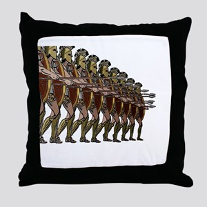 WARRIORS Throw Pillow
