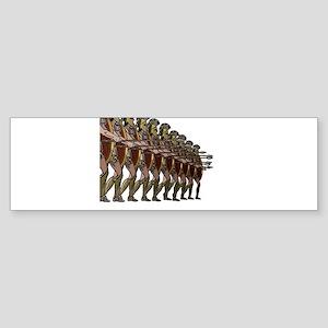 WARRIORS Bumper Sticker