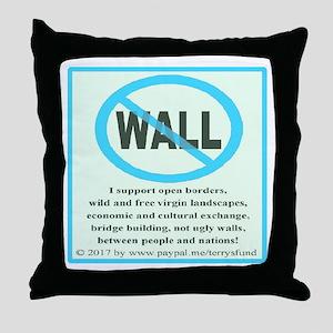 No Wall Throw Pillow