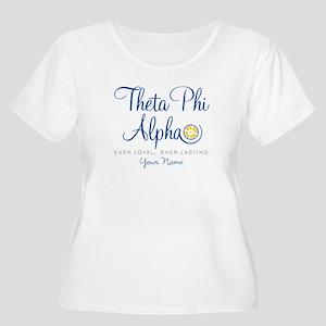 Theta Phi Alp Women's Plus Size Scoop Neck T-Shirt