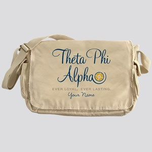 Theta Phi Alpha Personalized Messenger Bag