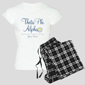 Theta Phi Alpha Personalize Women's Light Pajamas