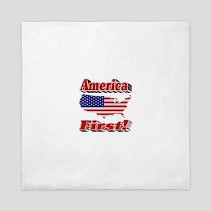 America First Queen Duvet