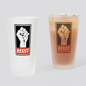 Resist Drinking Glass