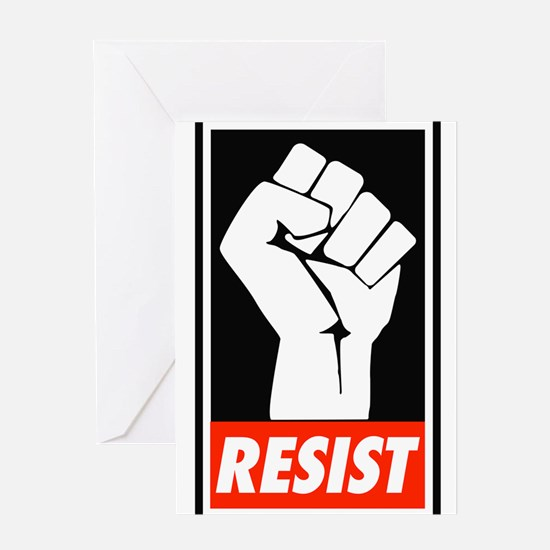 Resist Greeting Cards