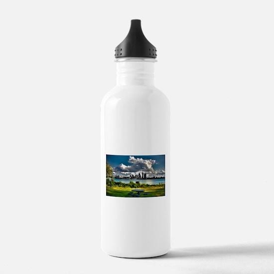 Cute City life Water Bottle