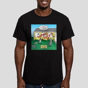 Raccoon Revenge Men's Fitted T-Shirt (dark)