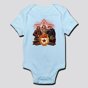 military soviet union propaganda Body Suit