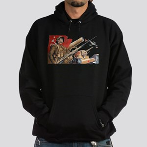 military soviet union propaganda Sweatshirt