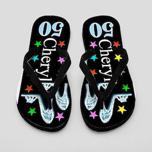 Fierce 50th Flip Flops