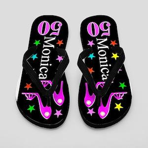 50th Fashion Flip Flops
