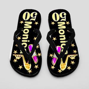 Stylish 50th Flip Flops