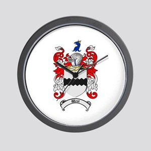 West Coat of Arms Wall Clock