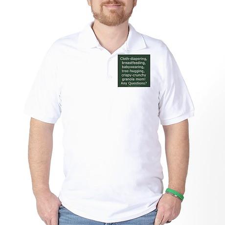 Granola Mom Golf Shirt