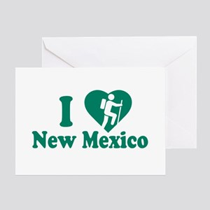 Love Hiking New Mexico Greeting Card