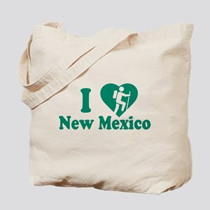 Love Hiking New Mexico Tote Bag