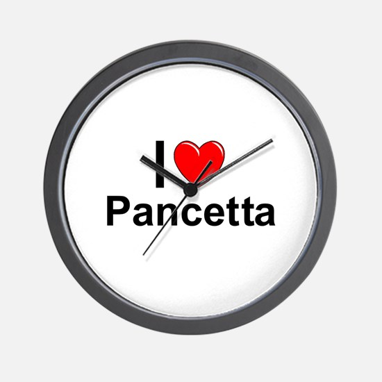 Pancetta Wall Clock