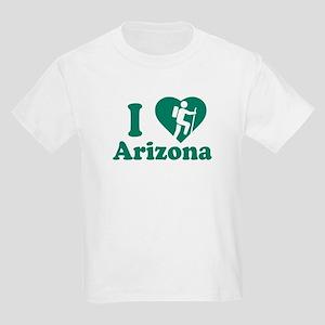 Love Hiking Arizona Kids Light T-Shirt