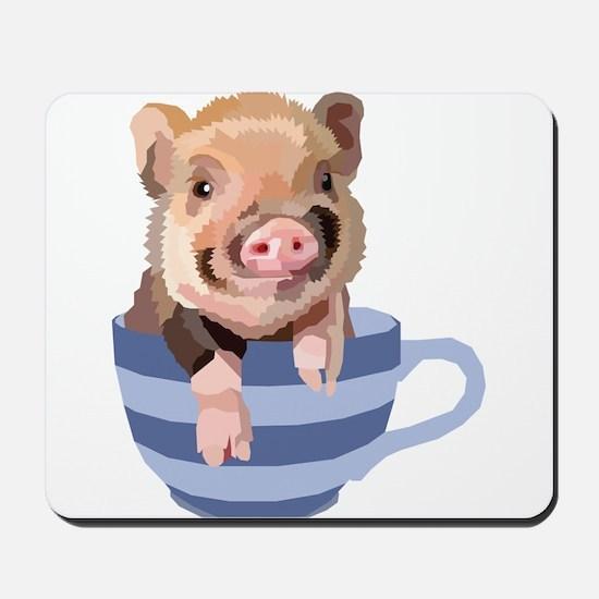 Teacup Pig Mousepad