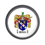 Webster Coat of Arms Wall Clock