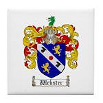 Webster Coat of Arms Tile Coaster