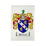 Webster Coat of Arms Rectangle Magnet