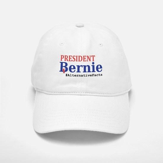 President Bernie - #AlternativeFacts Baseball Baseball Cap