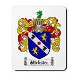Webster Coat of Arms Mousepad