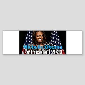 Michelle Obama For President 2020 Bumper Sticker