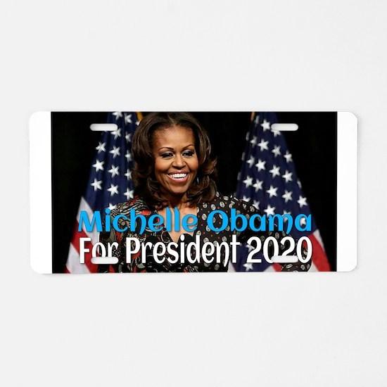 Michelle Obama For Presiden Aluminum License Plate