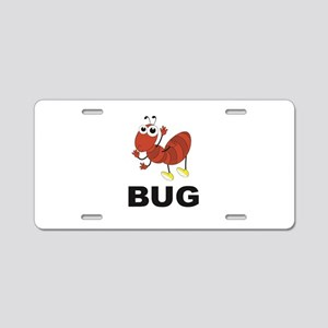 red ant bug Aluminum License Plate