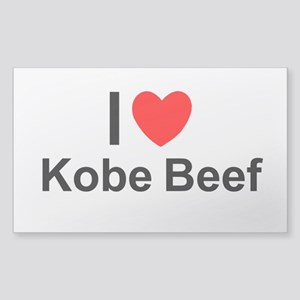 Kobe Beef Sticker (Rectangle)