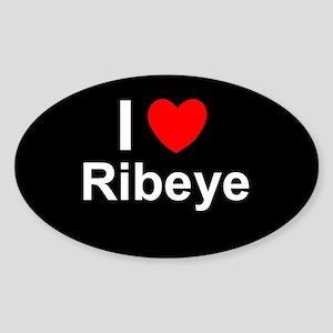 Ribeye Sticker (Oval)