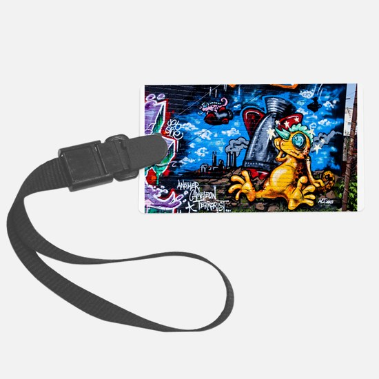 Ganja Graffiti Luggage Tag